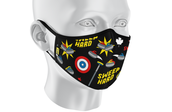 Curling Mask