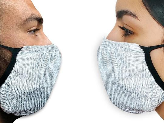 Anti-Microbial Mask - Grey (Medium)