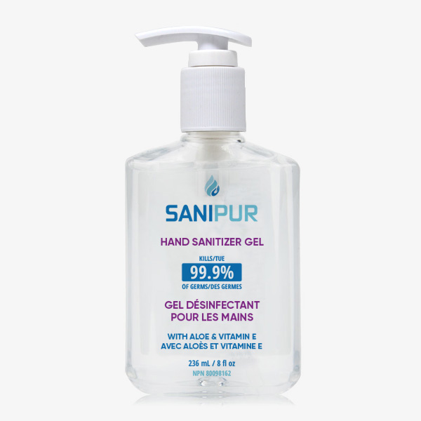 SANIPUR Hand Sanitizer Gel - 236ml